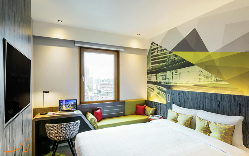 اتاق هتل ایبیس امبسدر گانگنام سئول