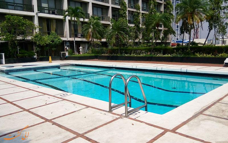 هتل واترفرانت پاویلیون مانیل   استخر
