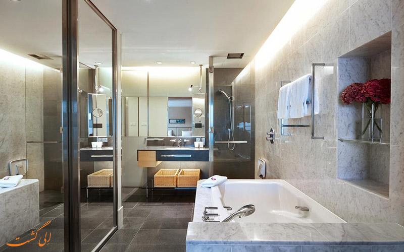 هتل هیلتون کوالالامپور | سرویس حمام
