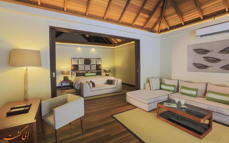 هتل کرومبا مالدیو | نشیمن ویلا