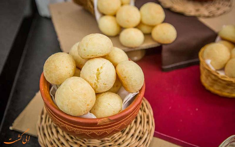 نان Pão de queijo