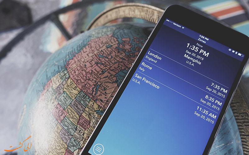 فناوری در سفر به لندن