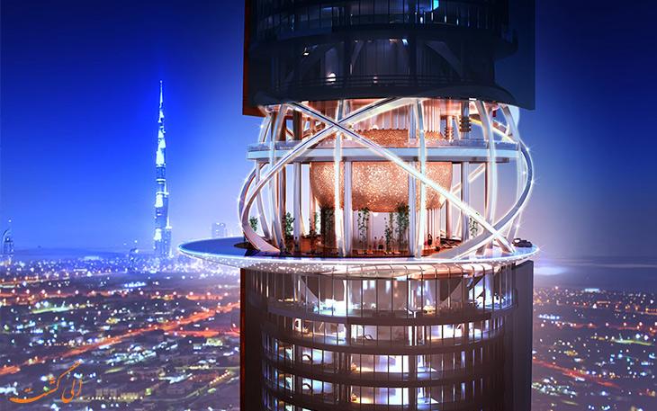 اولین هتل جهان با جنگل های بارانی در دبی