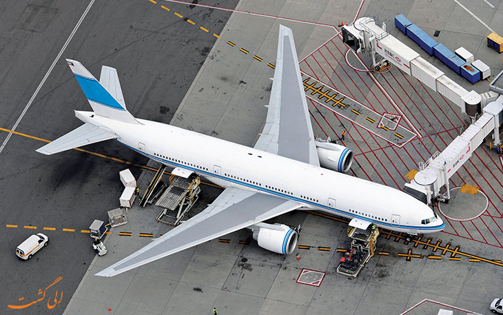 سیستم رانش معکوس هواپیما