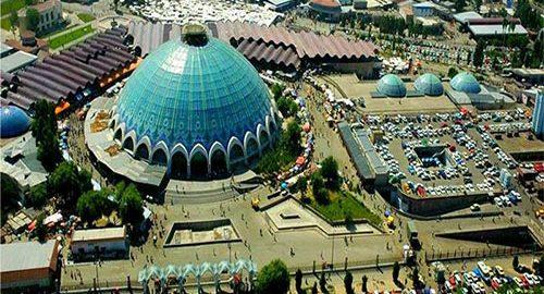 Tashkent local market