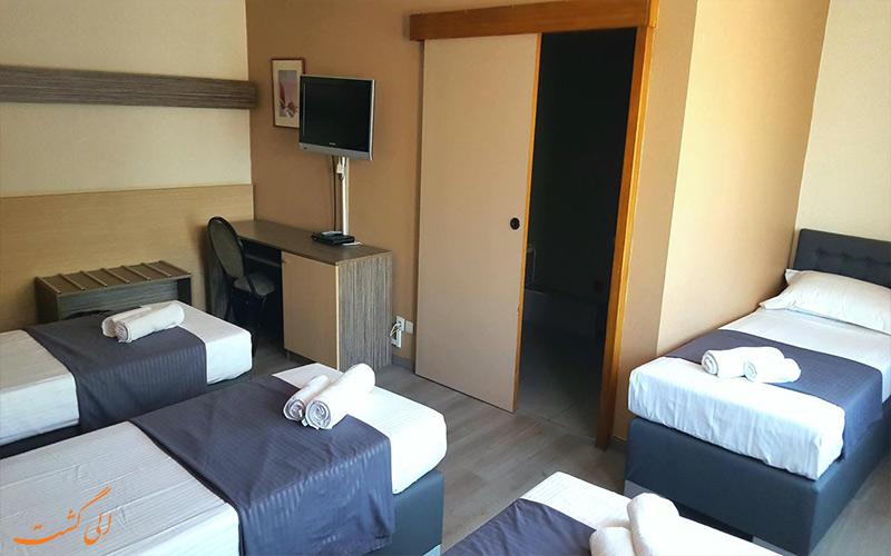 امکانات اتاق های هتل آروس باجت بروکسل