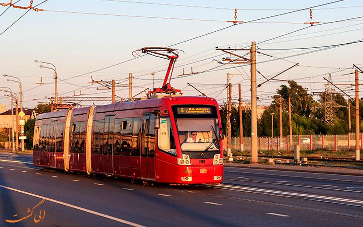حمل و نقل در شهر کازان روسیه