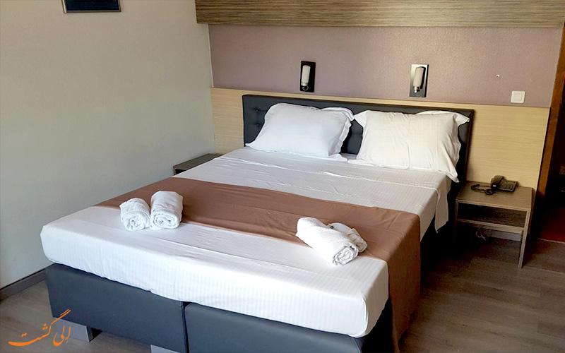 انواع اتاق های هتل آروس باجت بروکسل