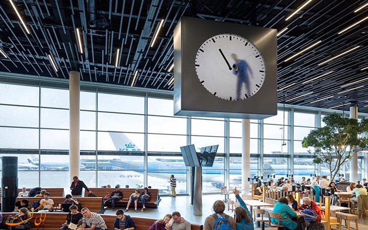 آشنایی با ساعت فرودگاه اسخیپول آمستردام