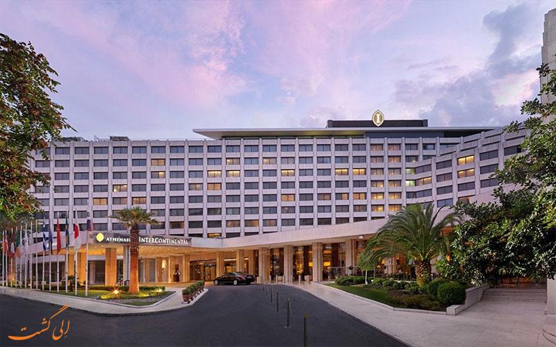 نمای هتل اینترنشنال آتنیوم آتن