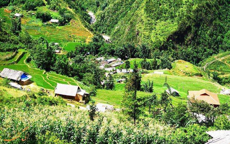 روستاهای اطراف ها گیانگ