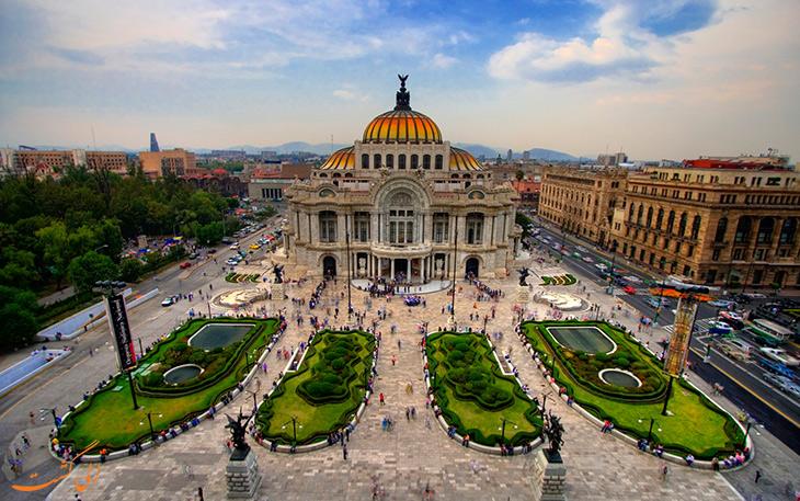 رکورد گردشگری مکزیک