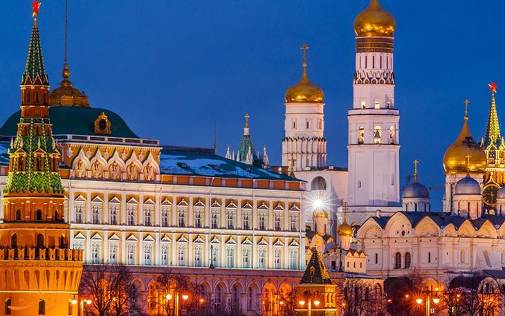 شهر مسکو در روسیه