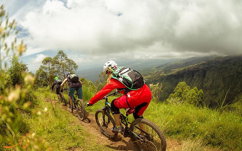 دوچرخه سواری در جزایر اندونزی