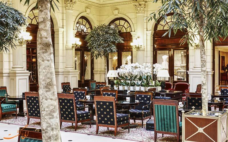 هتل اینترکنتینانتال پاریس- کافه هتل