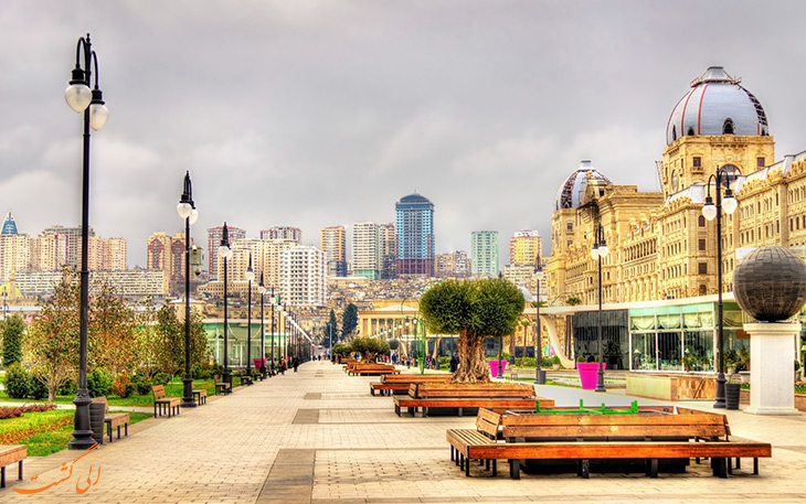 شهر باکو در آذربایجان