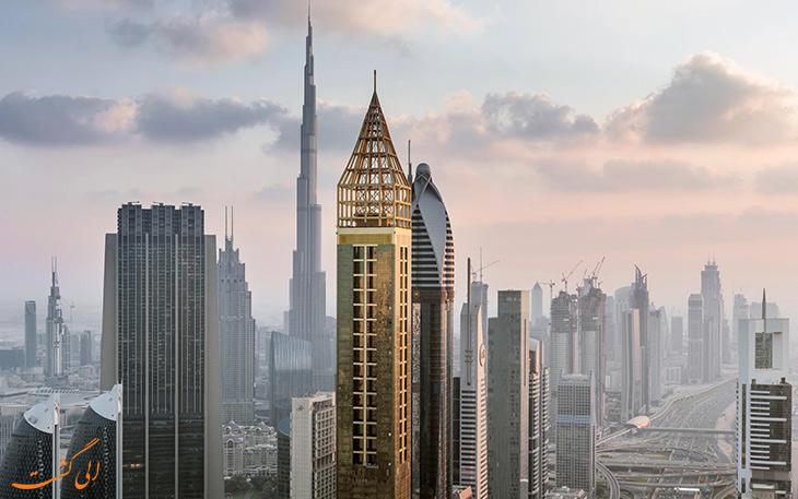 افتتاح بلندترین هتل جهان