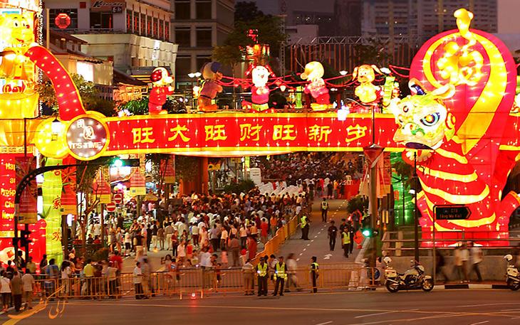 جشن سال نو چینی ها