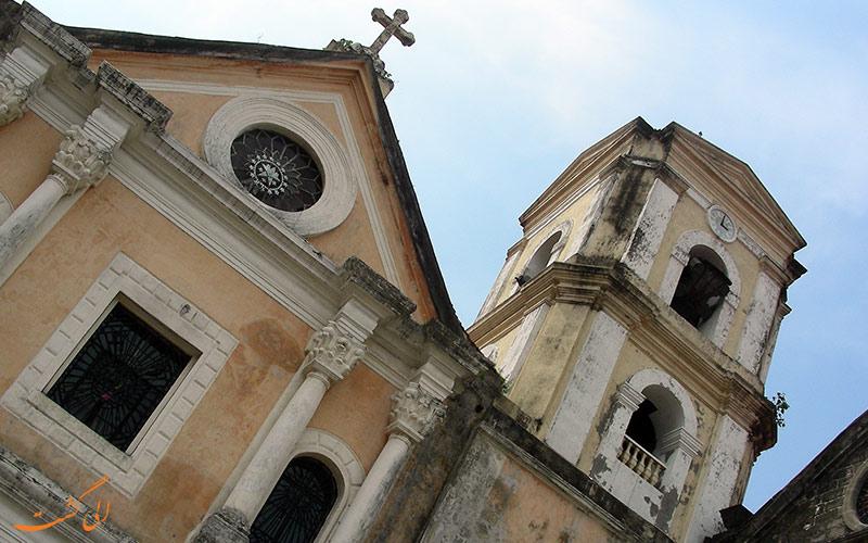 نمای کلیسای سن آگوستین در فیلیپین