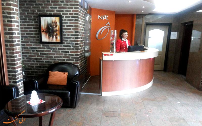 هتل آروس باجت بروکسل- میز پذیرش