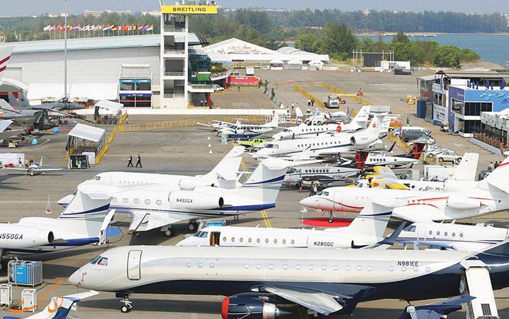 برگزاری نمایشگاه هوایی سنگاپور