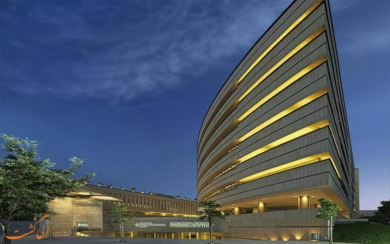 نمای کلی هتل اینترنشنال آتنیوم آتن