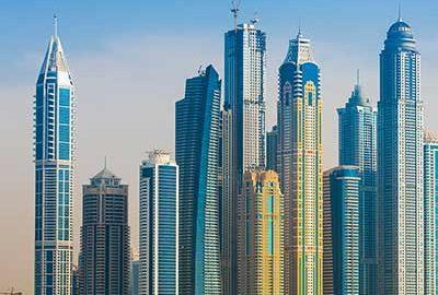 دبی شهر آسمانخراش