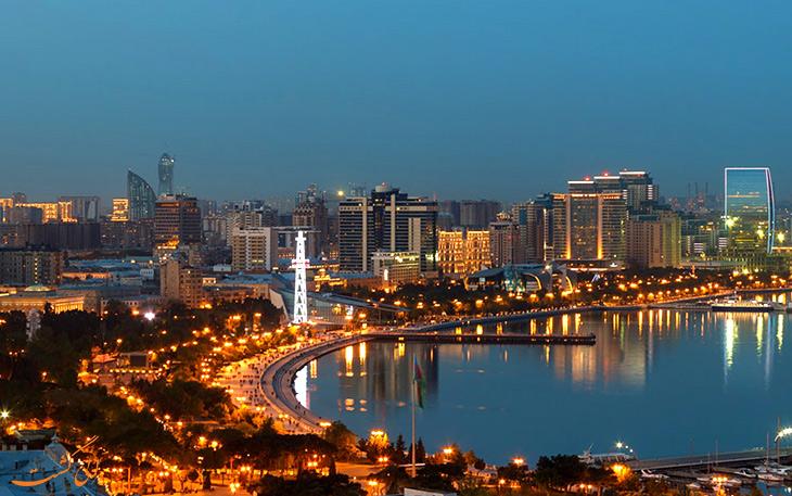 آب و هوای شهر باکو