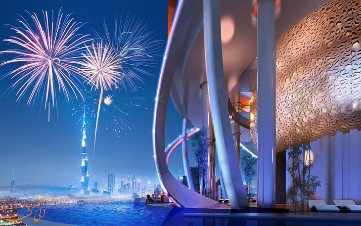 هتلی جهان با جنگل های بارانی در دبی