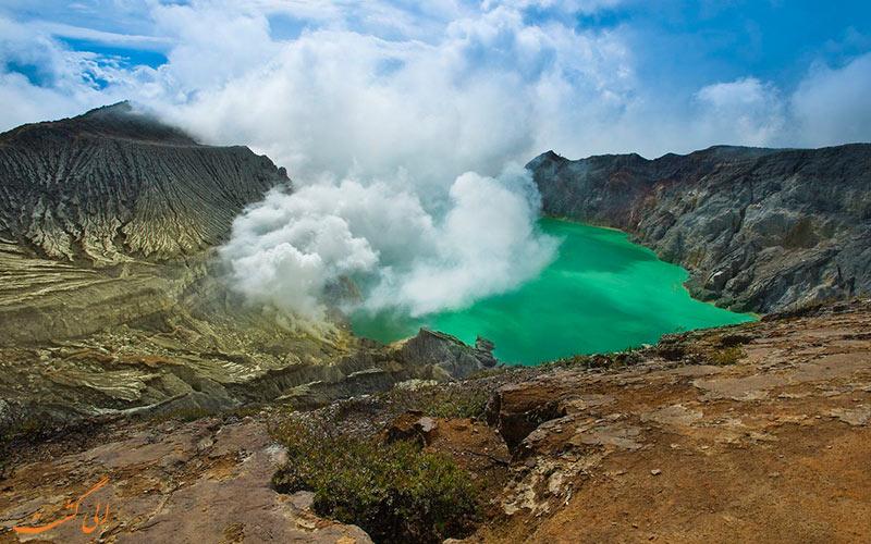 لذت صعود به کوه آتشفشانی لین Ijen