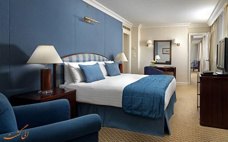 امکانات اتاق های هتل اینترنشنال آتنیوم آتن