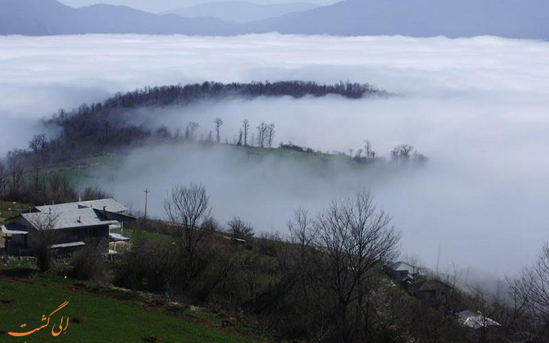 مه غلیظ افراتخته