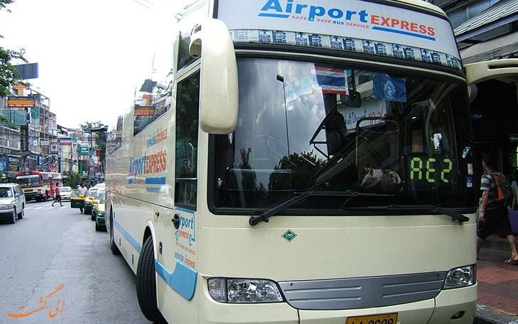 اتوبوس در حمل و نقل فرودگاه سووارنابومی