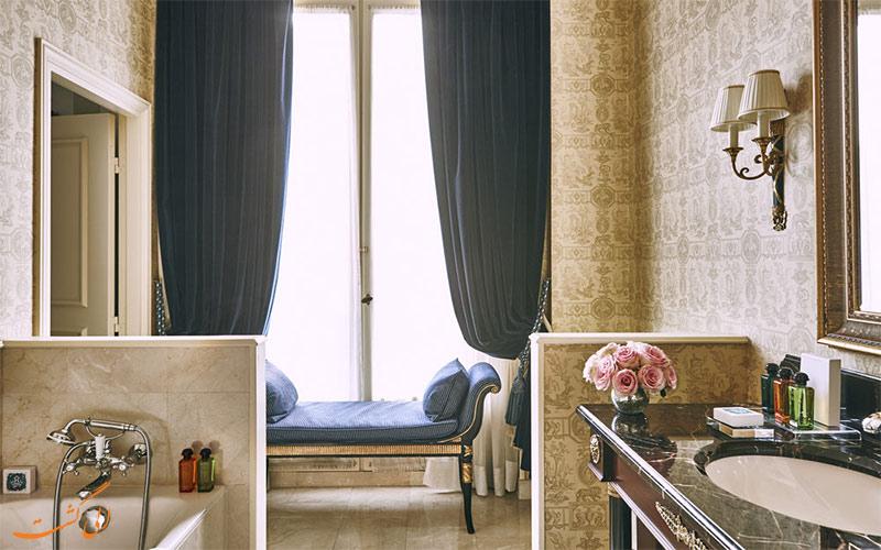 اتاق های هتل اینترکنتینانتال پاریس- حمام