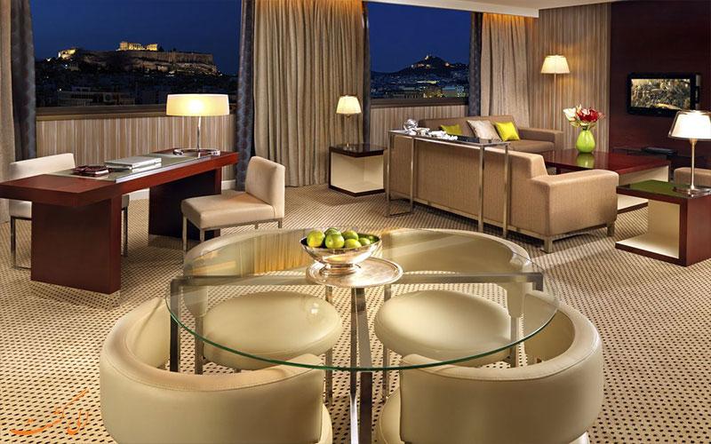هتل اینترنشنال آتنیوم آتن InterContinental Athenaeum Athens