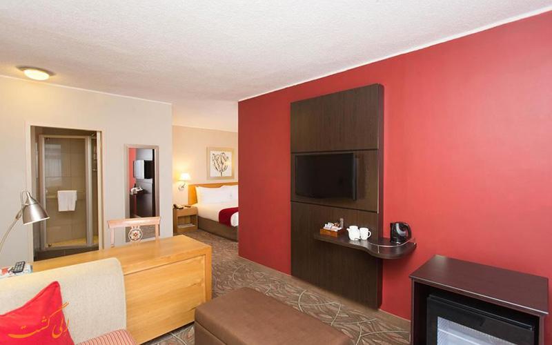 انواع اتاق های هتل گاردن کورت کیپ تاون
