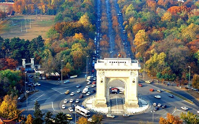 شهرهای رومانی