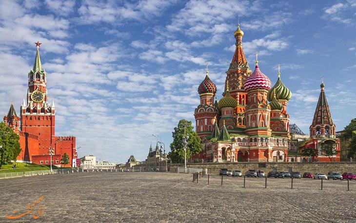 مختصری از تاریخ مسکو