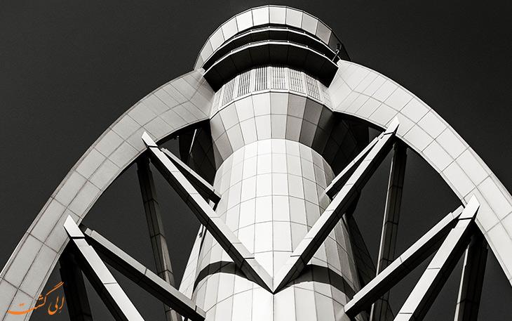فرودگاه دبی: زیباترین برج های مراقبت دنیا