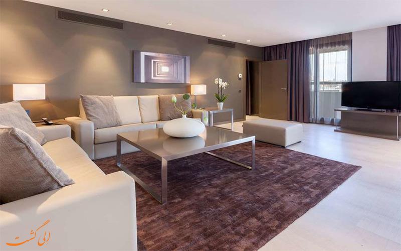 انواع اتاق های هتل ای سی آلبریا لاس پالماس