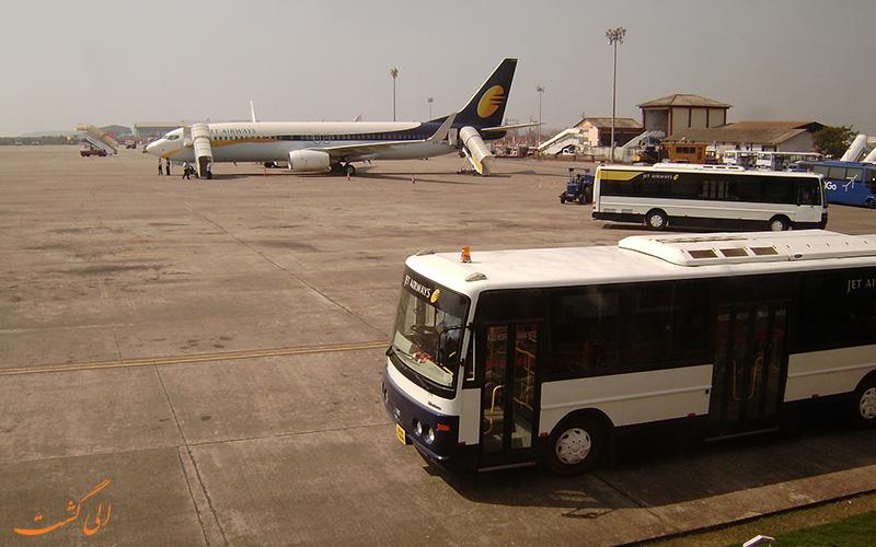 راه های دسترسی به فرودگاه آگرا