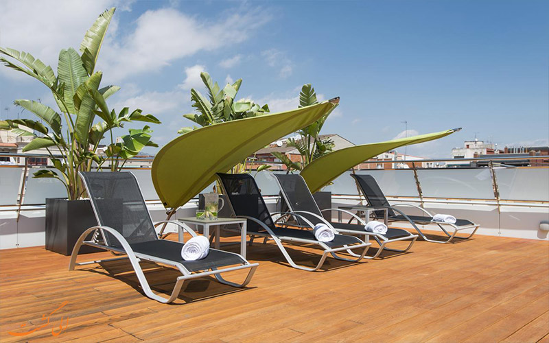 هتل آکو سوئیت بارسلونا- تراس آفتابگیر