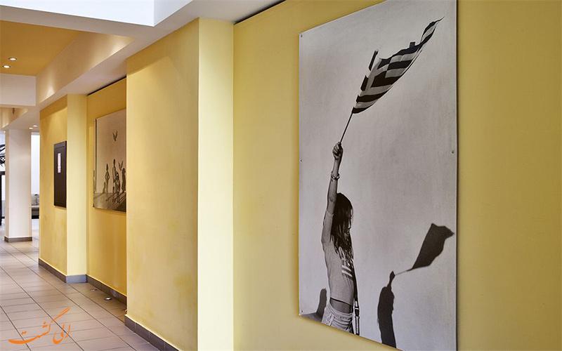 Arion Athens Hotel- eligasht.com راهرو و گالری هتل