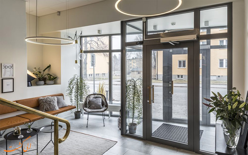 خدمات رفاهی هتل اتچ استکهلم - ورودی