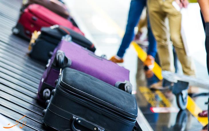 قوانین بار و بار مجاز هواپیمایی ماهان