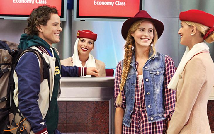 بار مجاز هواپیمایی امارات