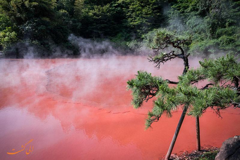 تالاب خونی جهنمی ژاپن
