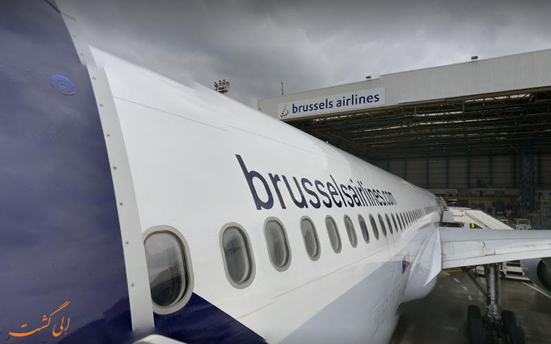 تاریخچه ی فرودگاه بین المللی بروکسل