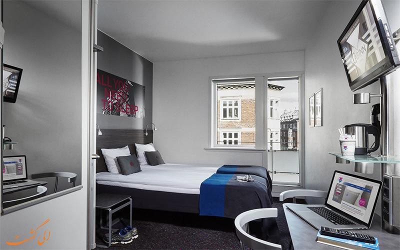 امکانات اتاق های هتل کابین سیتی کپنهاگ