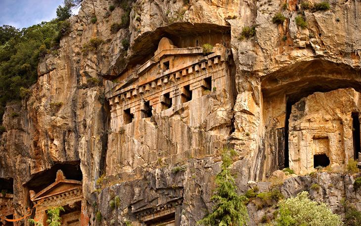 Image result for شهر باستانی کاریان مارماریس